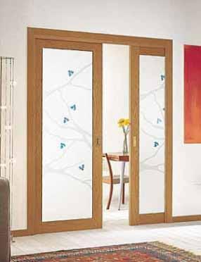Proyectos de instalacion for Puertas madera y cristal interior