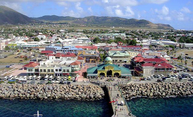 Las islas menos visitadas por los turistas, San Cristóbal y Nieves
