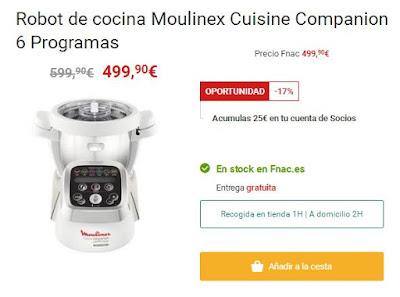 Moulinex Cuisine Companion descuento