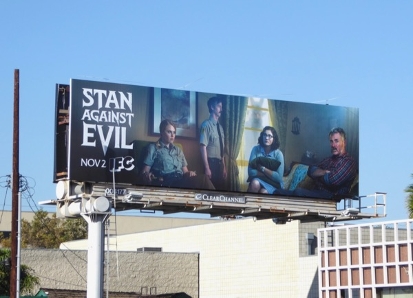 Stan Against Evil season 1 billboard