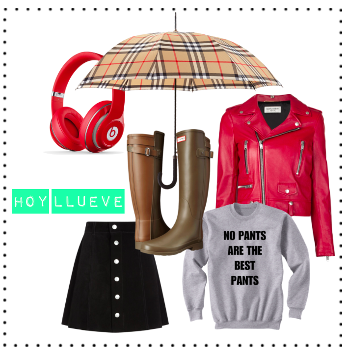 hunter-alexa chung-saint laurent-lluvia