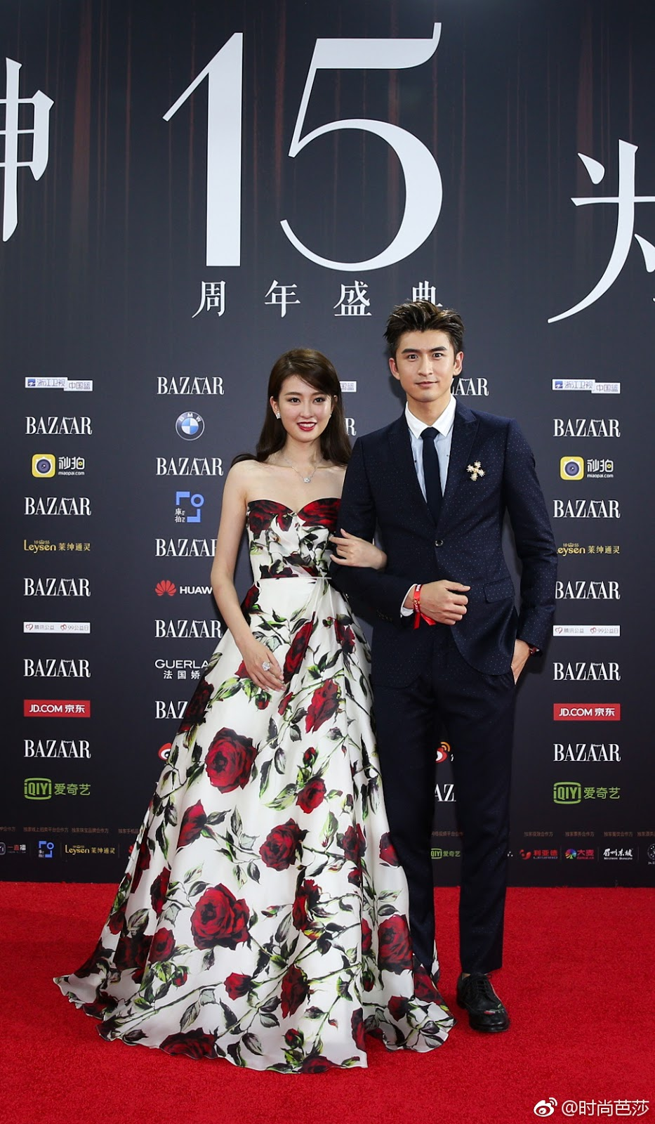Qiao Xin Red Carpet Leon Zhang