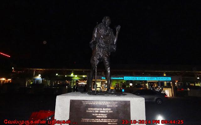 San Francisco Mahatma Gandhi Statue