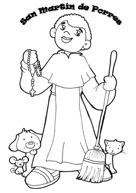Parroquia La Inmaculada Recursos Sobre San Martin De Porres
