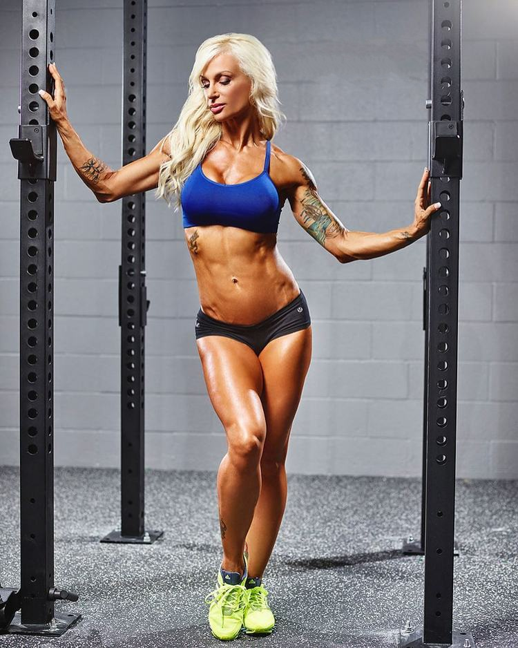 Fitness Model Mindy Harley