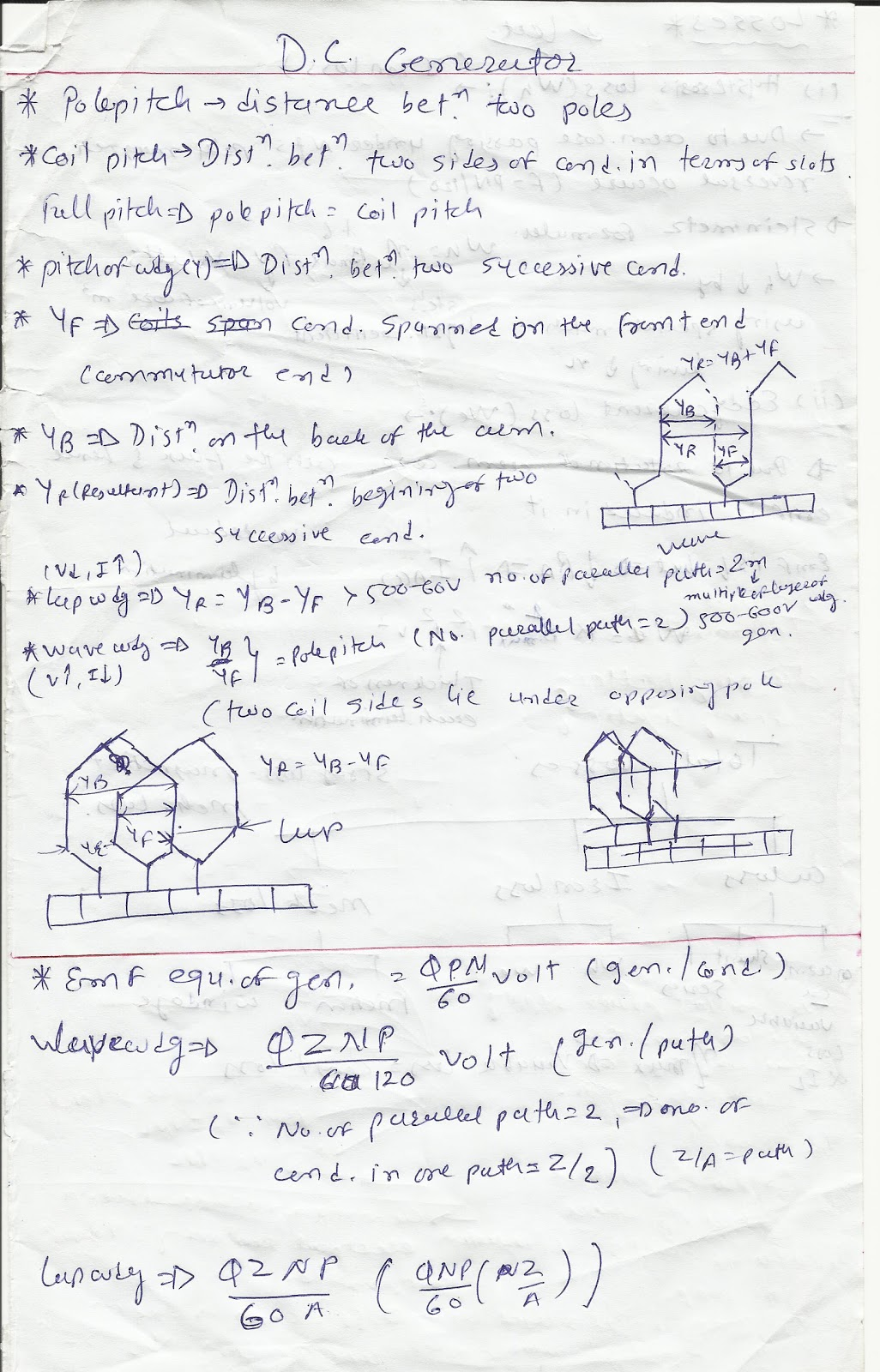 Fundamental Of Electrical Engineering Dc Generator