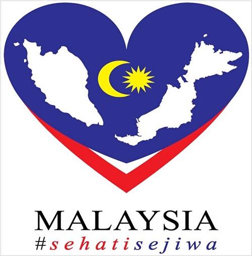 Gambar logo Sehati Sejiwa, tema hari kebangsaan malaysia merdeka yang ke-59 tahun 2016: sehati sejiwa, sebab tema sehati sejiwa dipilih, gambar logo sehati sejiwa, gambar hari merdeka 2016