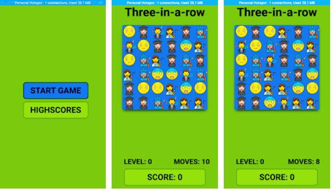 Match 3 In A Row : Android Game Free Download