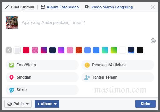 Cara supaya banyak LIKE dan KOMENTAR di status Facebook