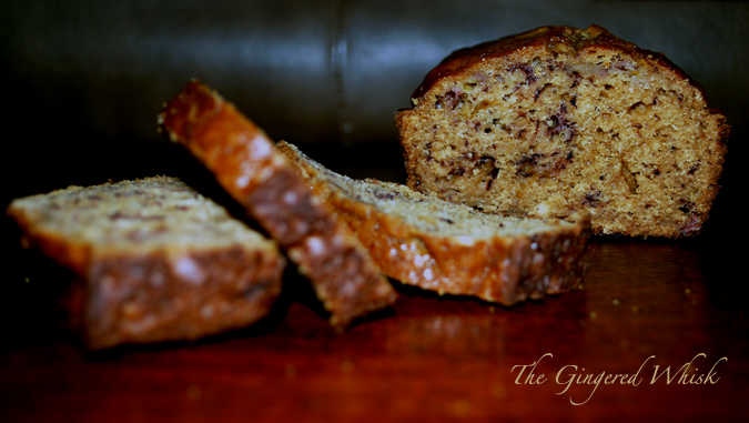 Earl Grey Banana Bread