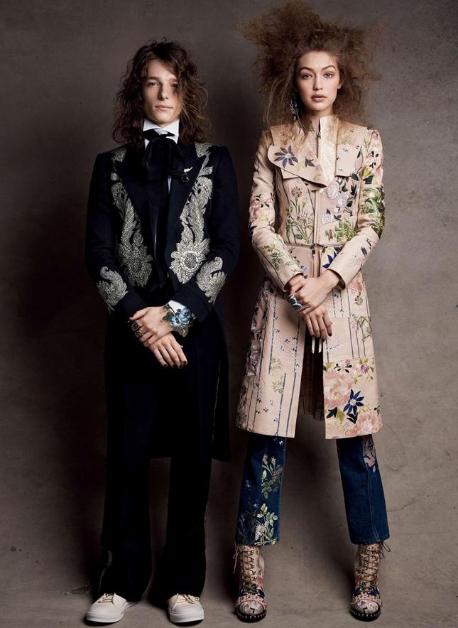 Gigi Hadid Vogue April 2017