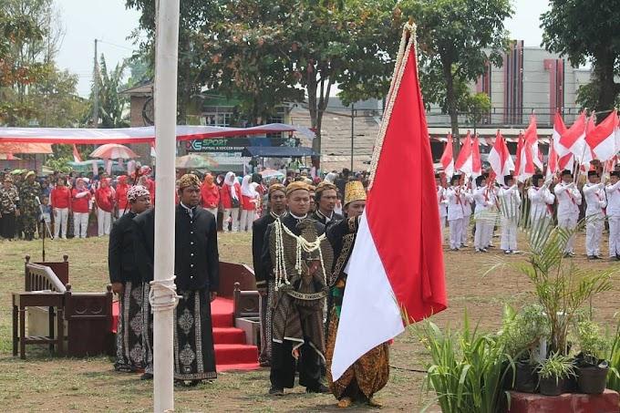 Chanka Padma Yonif 407/PK Mengikuti Kirab Merah Putih, Apel Kebangsaan dan Tausiyah Kebangsaan