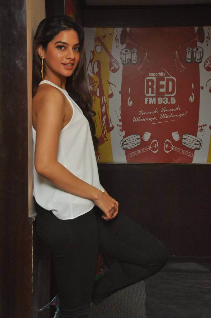 Tanya Hope At Patel SIR Movie Song Launch At Red FM Stills