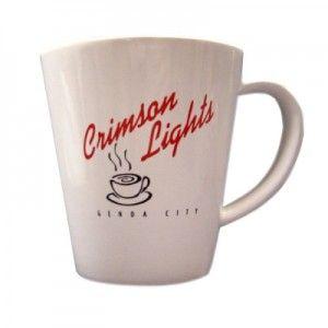 Crimson Lights coffee mug