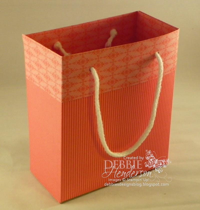 Debbie's Designs: Designer Paper Gift Bag!