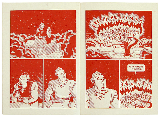 dibujo comic marcos moran drawing vida salvaje fanzine