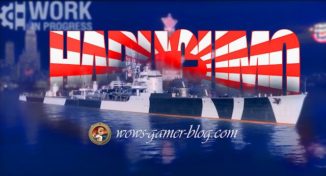 World of Warships Destroyer Harugumo
