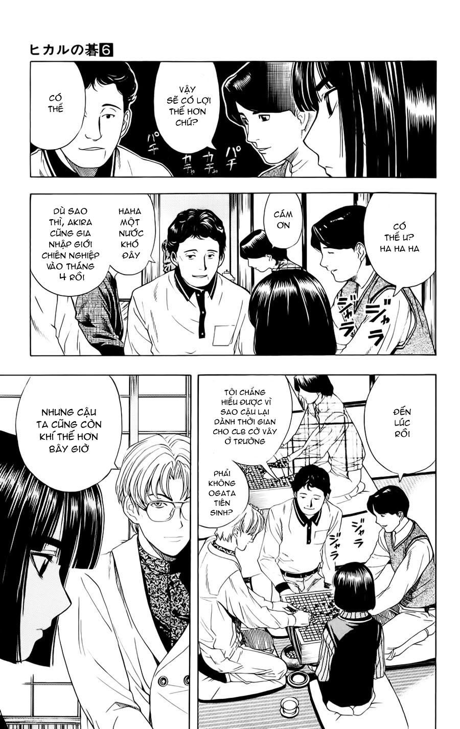 Hikaru No Go hikaru no go chap 46 trang 9