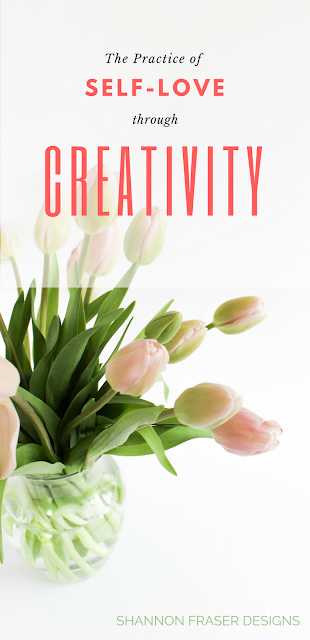 The practice of self-love through creativity   What I love about being creative   Shannon Fraser Designs   Modern Sewcialites   Quilting Community   #makers #quilters #creatives #selflove