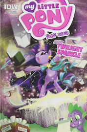 MLP Library Edition Comics