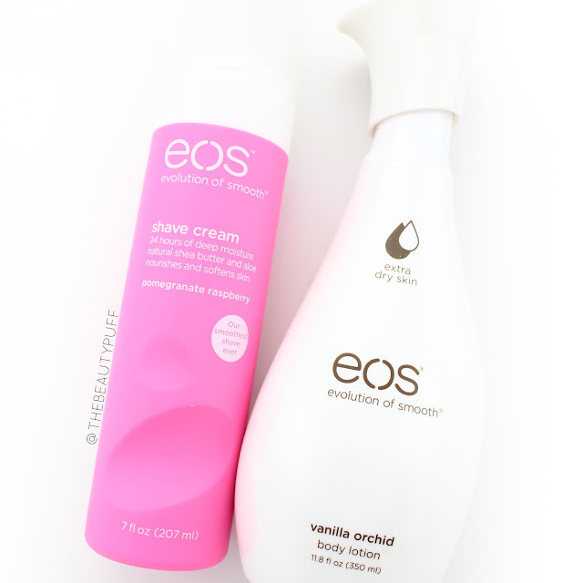 EOS Shave Cream + Body Lotion  |  The Beauty Puff
