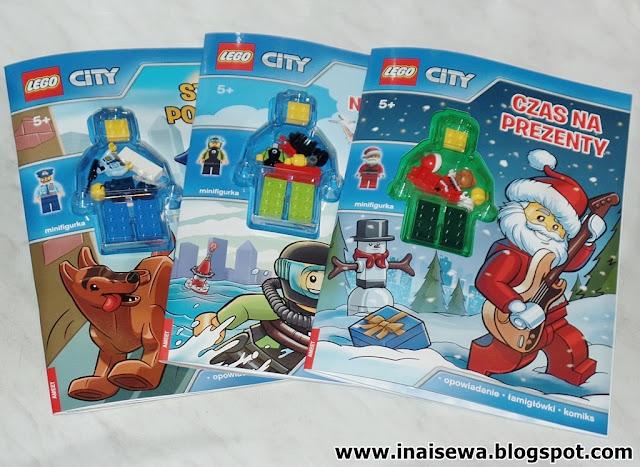 Ina I Sewa Lego City Kolekcja Wydawnictwo Ameet