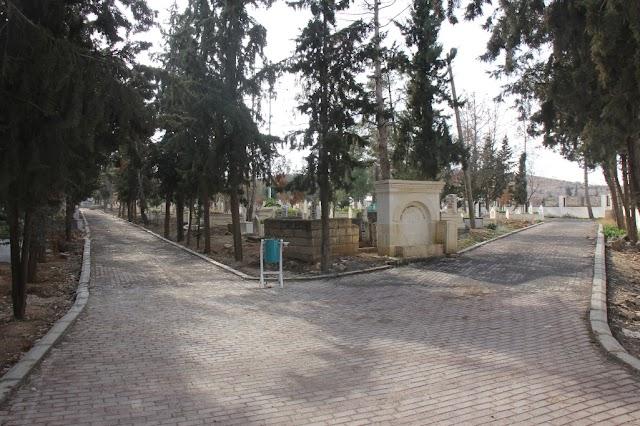 Bozova Mezarlığı ve Kent Parkı yapımı sürüyor