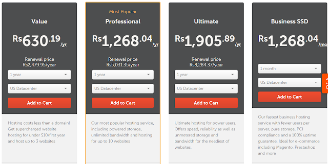 namecheap all shared web hosting plans