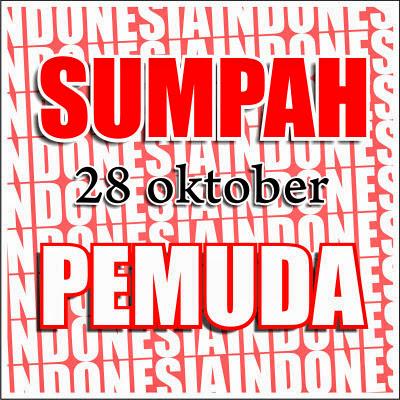 Kartu Ucapan Sumpah Pemuda 28 Oktober