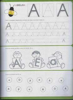 Escrever letra A