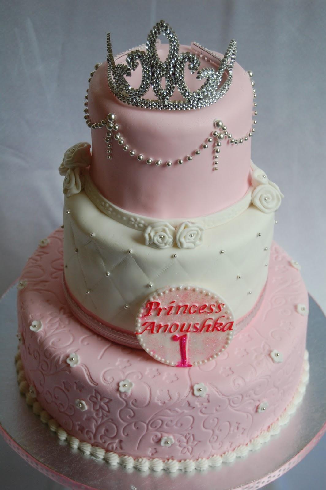 Pink Princess Tiara Cake