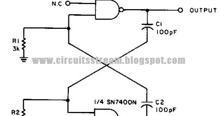 2MHz Square Wave Generator Circuit Diagram