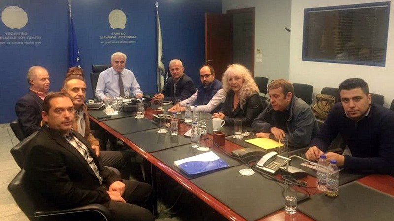 Στο Αρχηγείο της ΕΛΑΣ συζητήθηκαν τα θέματα που απασχολούν τη Διεύθυνση Αστυνομίας Ορεστιάδας
