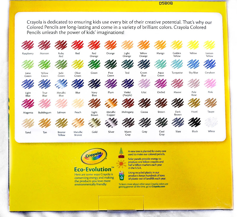 Crayola 100 Colored Pencils: What\'s Inside the Box | Jenny\'s ...