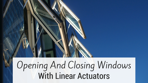 Opening Window With Linear Actuator