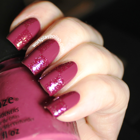 China Glaze Purr-fect Plum and Zoya