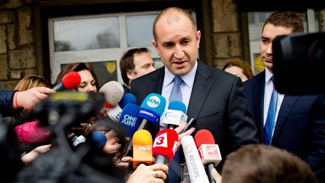Pro-Russian politician, Rumen Radev wins first round of Bulgaria election