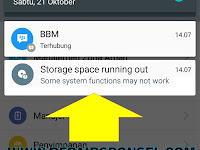 Cara Mengatasi Storage Space Running Out Android