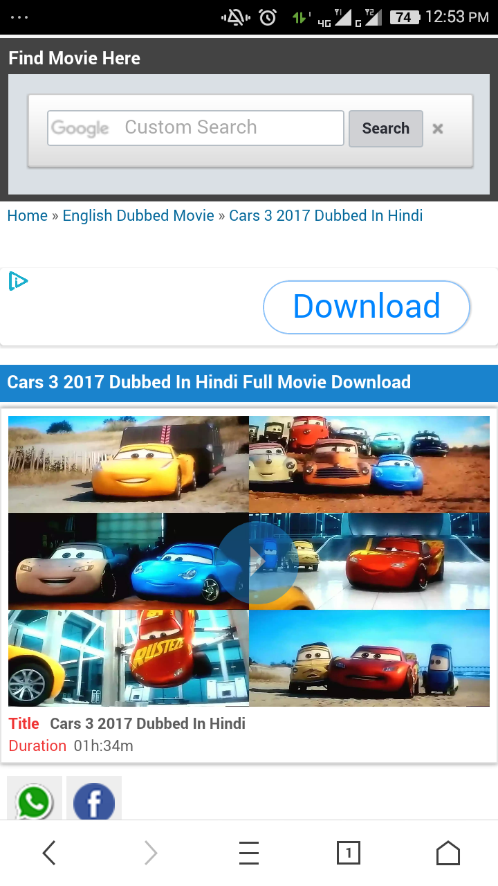 Gamerxd How To Download Cars 3 Full Movie In Hindi Language 1000