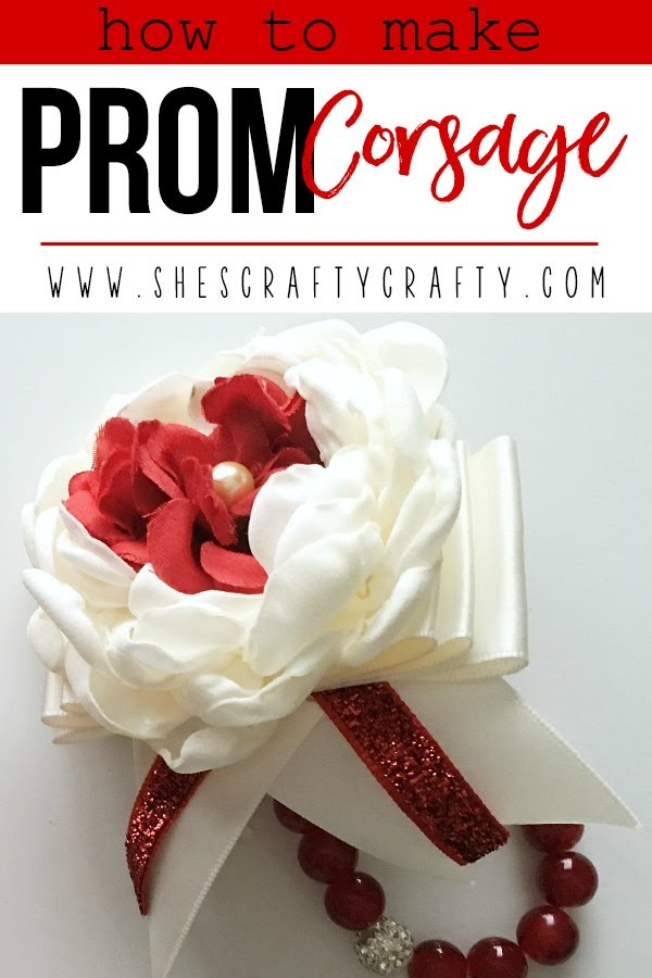 How to make a DIY Prom Corsage Bracelet