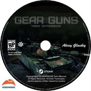 GEARGUNS Tank offensive Disc Label