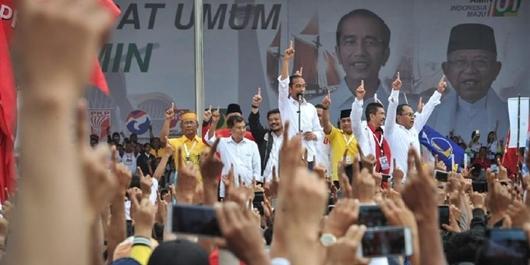 Jokowi Ingin Mengulang Kemenangan Pilpres 2014 di Sulsel