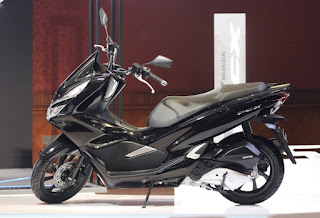 Warna Honda PCX 150 Briliant Black