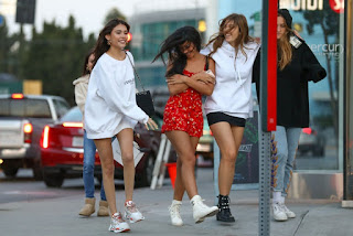 Madison Beer With Cindy Kimberly Shoping In West Hollywood