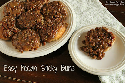 Mother's Day Brunch - Easy Pecan Sticky Buns