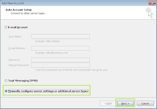 Cara Set Up POP dan SMTP di Outlook 2010 1