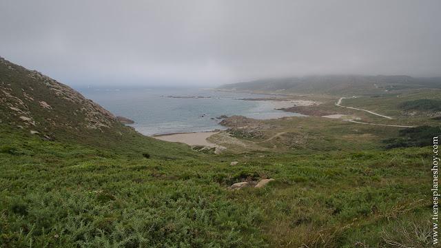 VIstas desde Cabo VIlan Galicia