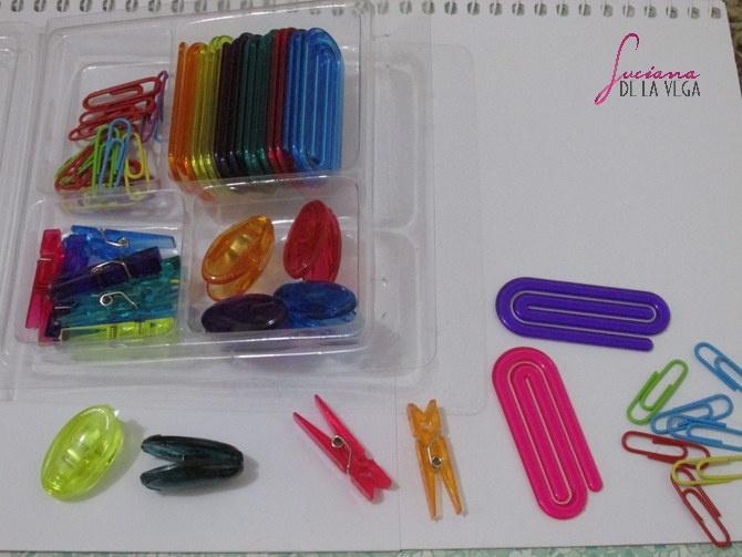 Clips Material Escolar Princesas Disney Bela e a Fera canetas coloridas coisas fofas caderno Jandaia it girl