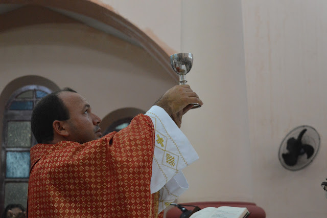 BCN COBERTURA: Terceira noite do Tríduo de São Joaquim foi celebrada pelo Padre Isael.