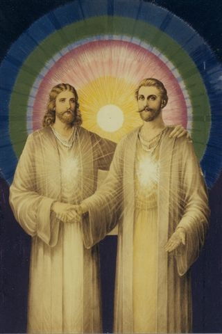 Jesus and Saint Germain